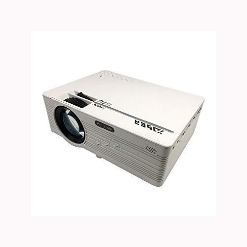 Link Co Kurzdistanzprojektoren LED-Außenprojektion Vollglaslinse HD 1080P Stereo Lautsprecher 170 Zoll großer Bildschirm mit PS4, HDMI, AV und USB