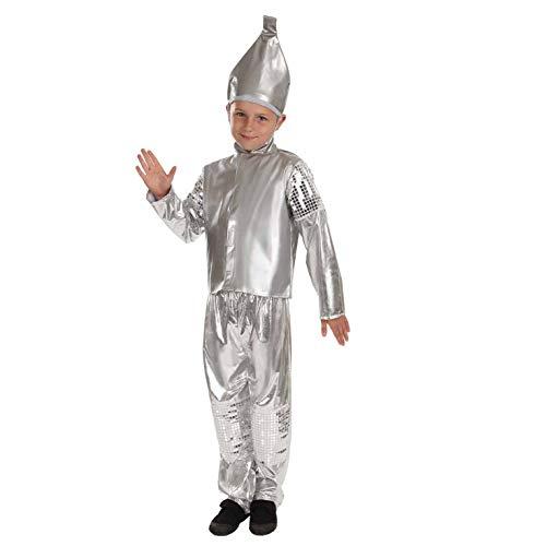 Kostüm Mann Tin Kinder - Fun Shack FNK3878L Kostüm, Unisex Children, Tin Boy, L