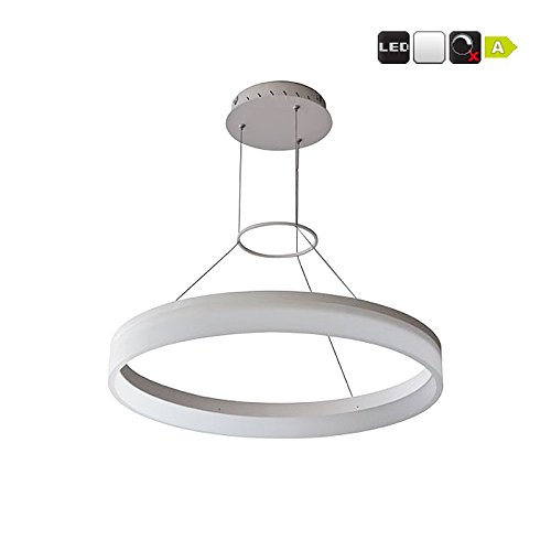 Suspension Design ronde à led - blanc neutre