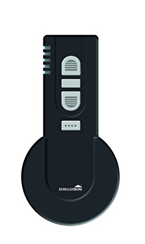 Schellenberg 20020 Smart Home Funk-Handsender 5-Kanal mit 868,4 MHz schwarz – Fernbedienung Licht, Steckdose, Rolladensteuerung