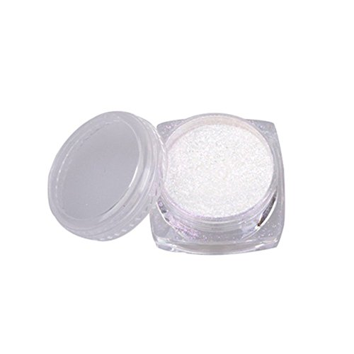Authentische Pigment-pigment (More Care 2g Metallic Magic Mirror Chrome Effect Dust Nail Art Powder CODE: MM001)