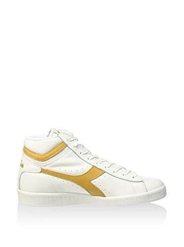 Diadora Unisex-Erwachsene Game L High Waxed Pumps Weiß / Beige