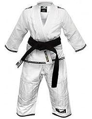 Bad Boy Blanco Judo Infantil Traje - 130 cm