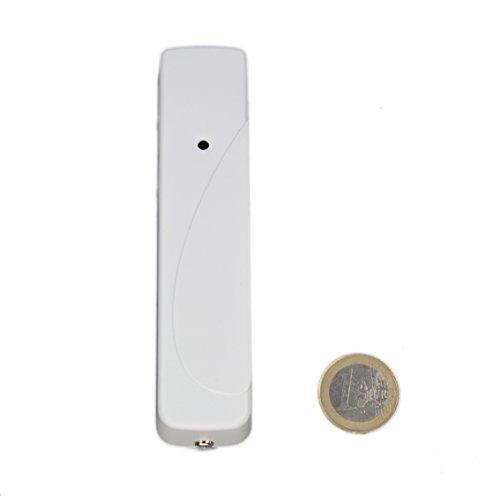 LUPUSEC Temperatursensor für die XT Smarthome Alarmanlagen, kompatibel mit der XT1 und XT2 (nicht Plus) Funk Alarmanlagen, ermöglicht temperaturgesteurertes Schalten, Automation, 12013