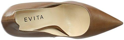 Evita Shoes Natalia, Escarpins femme Braun (Cognac 26)