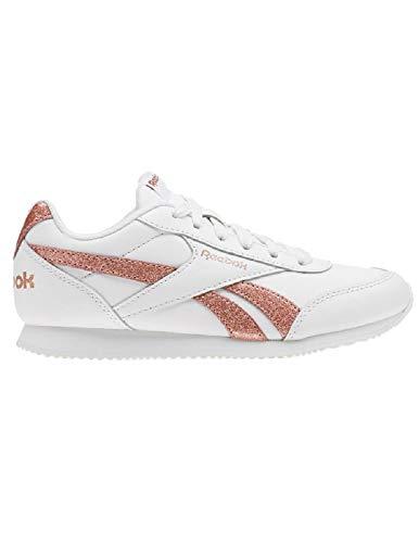 Reebok Royal CLJOG 2, Zapatillas de Trail Running para Niñas, Multicolor (New Metallic/White/Silver 000), 35 EU