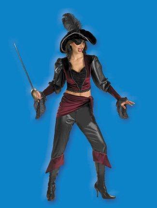 Cesar 521-Kostüm Pirat Schönheit der Meere ()