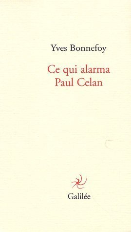 Ce Qui Alarma Paul Celan [Pdf/ePub] eBook