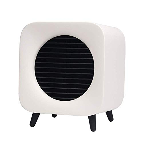 AMNFJ 700W Mini Cerámico Ventilador Calentador