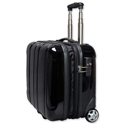 Generic Laptop-Trolley aus Polycarbonat, mit abnehmbarem Laptop-Trolley, Schwarz