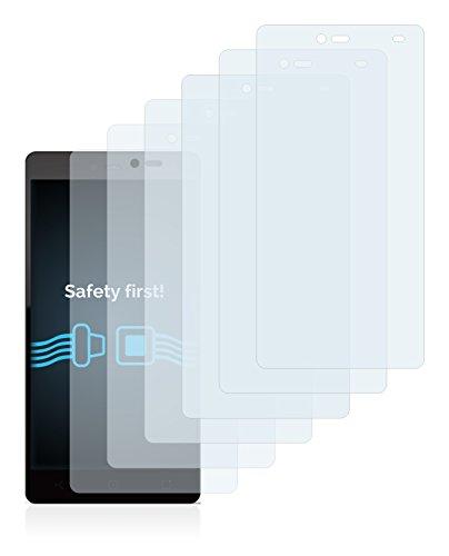 Savvies Schutzfolie für Yezz Andy 5.5T LTE VR [6er Pack] - klarer Displayschutz