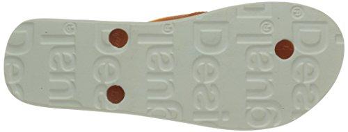 Desigual 61Hs5B1 Damen Zehentrenner Sandalen Blau - Bleu (5000 Navy)