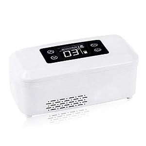 Unbekannt Medizin-Kühlschrank und Insulin-Kühler Für Auto-Insulin-Box Startseite Tragbare Medikamente-Kühler-Box Kleine Reise-Box Für Medikamente (20.9X9X9.9Cm (8.23X3.54X3.9Inch)