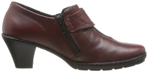 Rieker 57152-43, Scarpe chiuse donna Rosso (Rouge (35 Medoc))