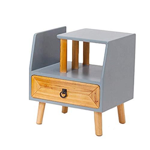 BJYG Nachttisch Schlafzimmer Sofa Seitenschrank Kreative Wohnzimmer Schrank Multifunktionale Nachttisch Kleinen Tisch Kleinen Couchtisch 56 * 40 * 50 cm