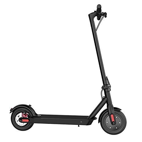 MARKBOARD Elektro Scooter, Elektroroller Faltbar City Roller Zusammenklappbarer Cityscooter Adult - Ultra Light (schwarz)