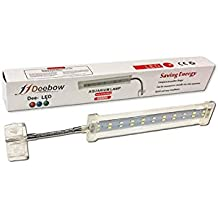 PANTALLA LAMPARA DEEBOW DEE-5LED PARA LATERAL DE ACUARIO 6800K 10W 22 LED