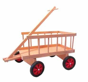 """Rudolphs Schatzkiste Leiterwagen """"Felix"""" Kunststoffrädern Maße: L/B/H 60cm/ 45cm/ 40cm Neu Erzgebirge Handwagen Holzwagen Bollerwagen Kinderwagen"""