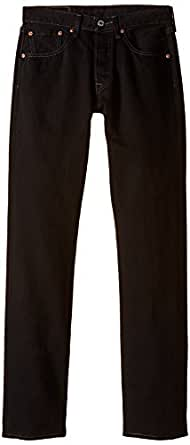 Levi's 501 Original Fit Men's Jeans, Black (Black 0165), W28/L32