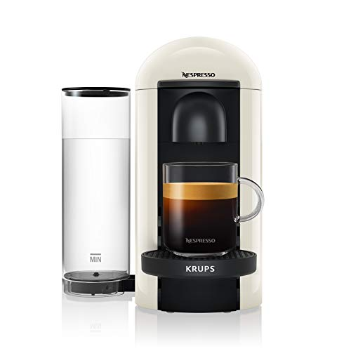 Krups Nespresso XN9031 Vertuo Plus Kaffeekapselmaschine, weiß, 1,1 l