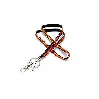 Audew Strap Lanyard Bling Rhinestone Crystal Custom for ID Badge Key Ring Holder