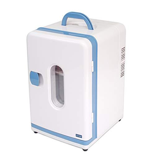 Elektrische KüHlbox -12 Liter Mini Tragbarer, Kompakter PersöNlicher KüHlschrank, KüHlt Und Heizt, FüR Lebensmittel/GeträNke/Kosmetik/Insulin/Reisen/Picknicks -