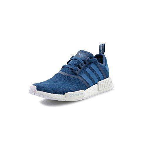 adidas Schuhe - Nmd_R1 blau/blau/weiß Größe: 38 2/3