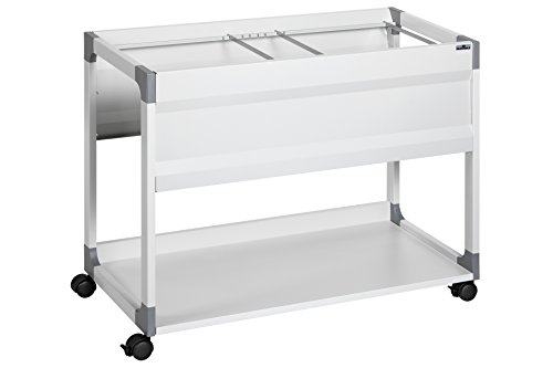 Durable 378301 System File Trolley 100 Multi S, schwarz