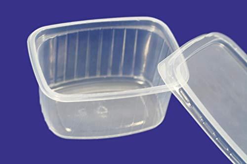 (confezione da 50) 250ml insalatiera box coperchi in plastica usa e getta da asporto fast food storage