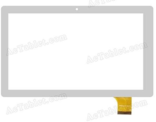 Remplacement d'écran tactile verre glace encadrement Couleur Blanc pour Archos 101d Neon tablette zp9193–101# 37