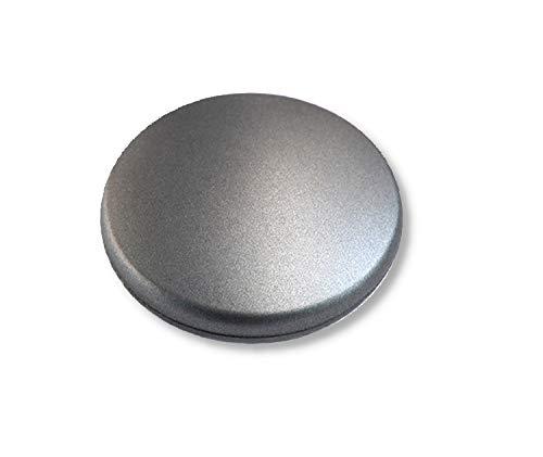 Magnetgriff für Flächenvorhänge, Gardinenmagnet, Raffmagnet für Gardinen, Ø 45mm, granit