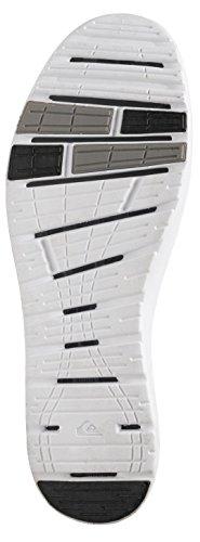 Quiksilver Herren AG47 Amphibian Shoes, Baskets Basses Homme Noir - Schwarz (Black/White/Blue Xkwb)