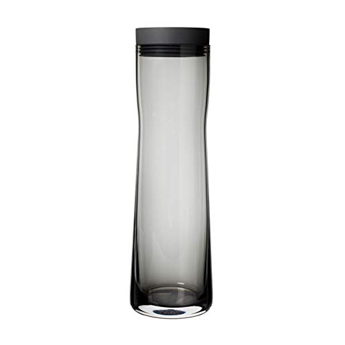 BLOMUS Aus Glas, Deckel aus poliertem Edelstahl und Silikon