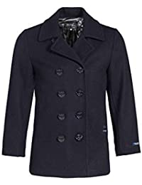 Dalmard Marine - Caban Laine Made in France Taille Homme - L, Couleur - Bleu 9f0fb0602f7