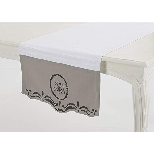 Chemin de table monogramme Amadeus