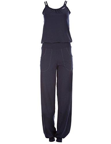 Winshape Damen Jumpsuit WJS1, Fitness Freizeit Sport Yoga Pilates, Night-Blue, M