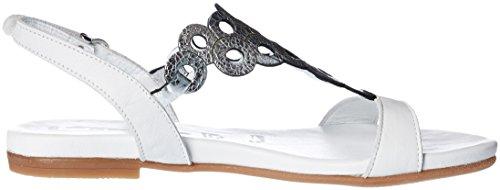 Tamaris 1-28102-28 Sandales femmes Weiß