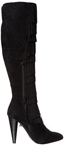 Steve Madden Maraka occidentale Boot Black Suede