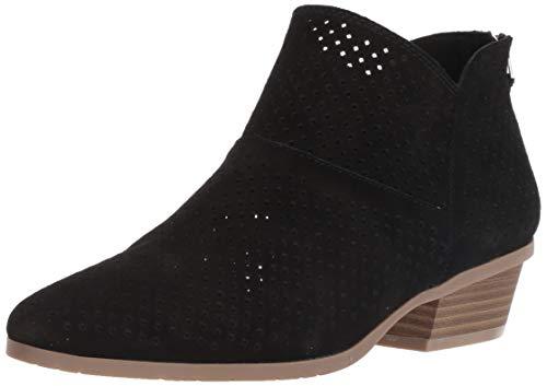 Kenneth Cole REACTION Damen Side Walk Perf Ankle Bootie Stiefelette, schwarz, 43 EU - Reaction-schuhe Schwarz Kenneth Cole