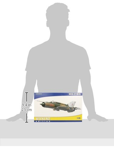 148-Eduard-Weekend-Mig-21-BIS-Aircraft-Model-Kit