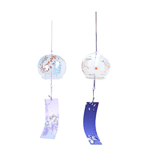 Sharplace 2 / 3pcs Set Campanas Viento Japonés