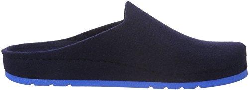 Rohde Herren Riesa-h Pantoffeln Blau (Ocean 56)