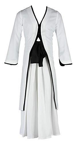 Ichigo Shinigami Kostüm - Chong Seng CHIUS Cosplay Costume Outfit for Kurosaki Ichigo Bankai White Kimono Version 2