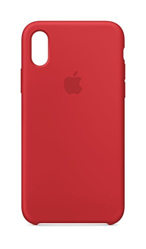 Apple mqt52zm/a silicone iphone x red