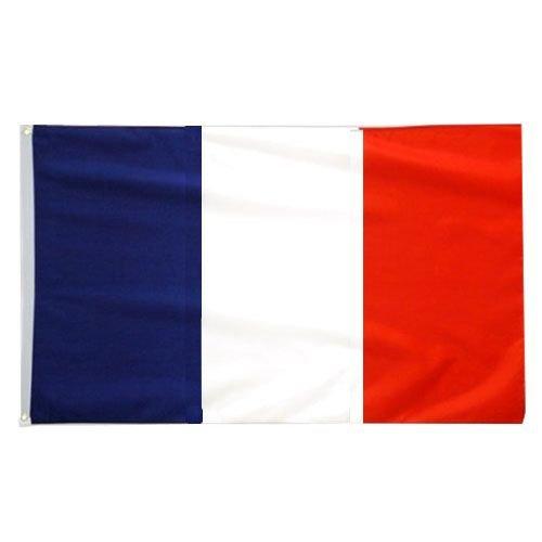 Fahne 90 x 150cm   FRANKREICH FRANCE   mit Ösen Flagge Fahne Flaggen Fahnen zum Hissen