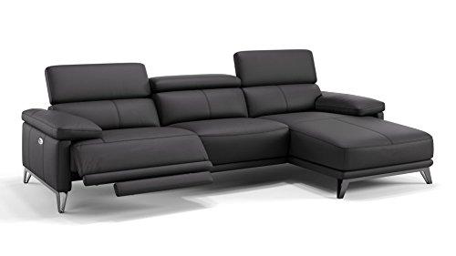Leder Sofa Couch Sofagarnitur Ecksofa Eckcouch Polsterecke XXL