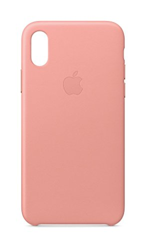 Apple Custodia in pelle (per iPhone X) - Rosa cipria