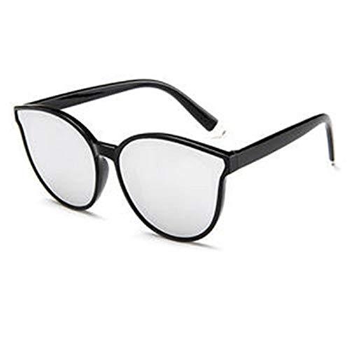 Gaodaweian Damen-Sonnenbrillen Flexible Frames Polarized Impact mit Farblinse für Damen und Mädchen (Color : White)