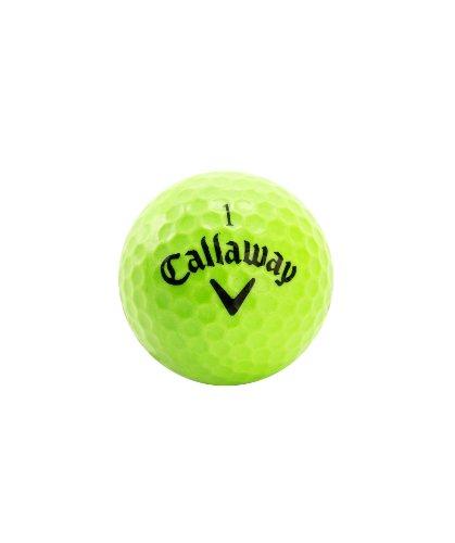 Callaway HX Lot de 9 balles de Practice de Golf–Vert