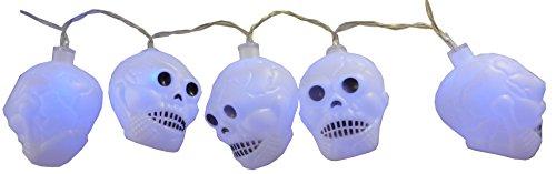 eihnachtskonzept-Halloween-Dekoration beleuchtet Innensortierte Halloween-Thema-Entwürfe (Schädel) ()